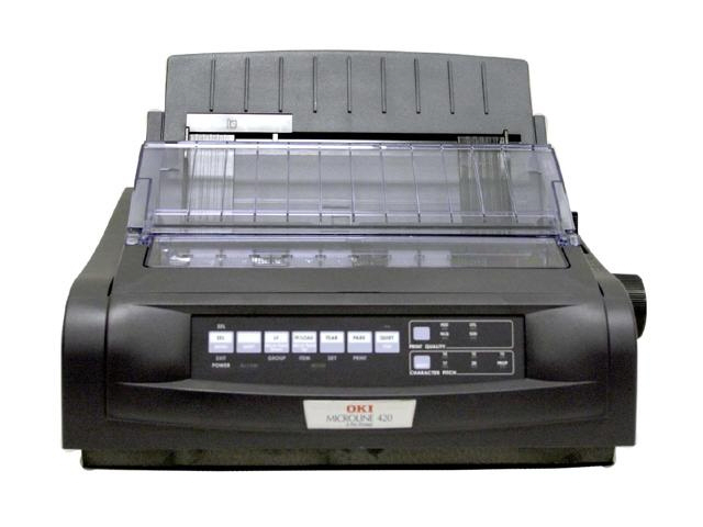 Okidata ML 421 Wide Printer - Black